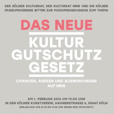 Kulturgutschutzgesetz_Podiumsdiskussion
